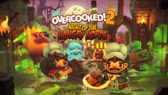 Spooky new Overcooked 2 DLC out now: Night of the Hangry Horde!