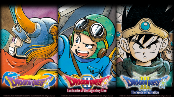 Dragon Quest Trilogy hits the Nintendo Switch