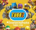 Collectable cosplaying ducks (TUBBZ) announced