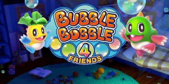 Experience Bubble Bobble nostalgia with this special edition of Bubble Bobble 4 Friends