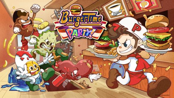 Retro classic BurgerTime Party! hits Nintendo eShop