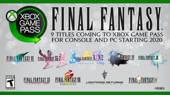 FINAL FANTASY – Xbox Game Pass is going to have FINAL FANTASY titels in 2020!