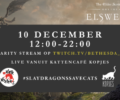 Streamers will play The Elder Scrolls in a cat café to raise money for animals worldwide