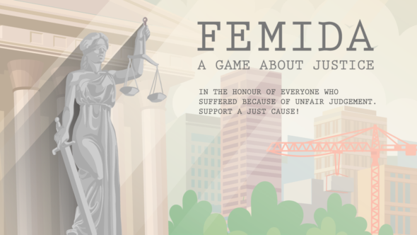 Sample Femida's Brand of Justice in the Open Beta for the non-linear Detective game