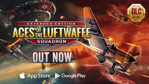 Aces of the Luftwaffe – Squadron is out now for iOS and Android