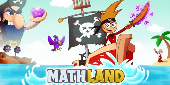 Educate yourself (or your kids) with Mathland for Nintendo Switch! Out now