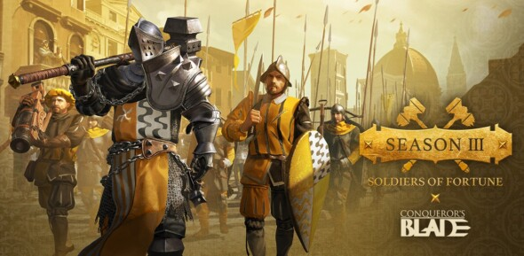 Conqueror's Blade sees the return of disgraced lords in its free update Soldiers of Fortune