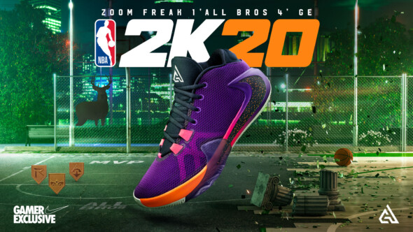 NBA 2K20 gets exclusive Nike shoes deal
