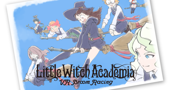 Little Witch Academia VR: Broom Racing Flies to Oculus Quest in late 2020