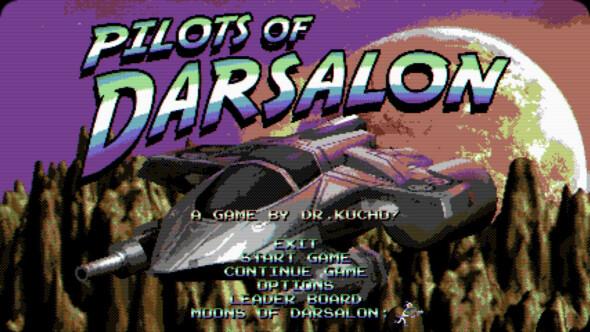 Commodore 64-type retro game Pilots of Darsalon on Steam the 28th