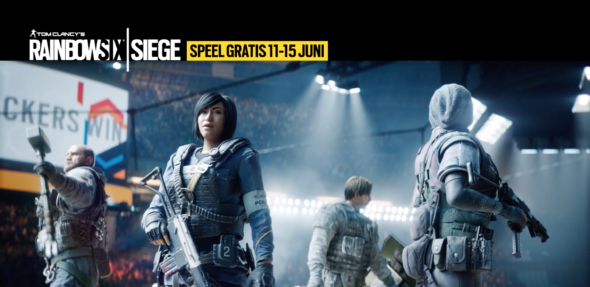 Play Tom Clancy's Rainbow Six Siege this weekend for FREE