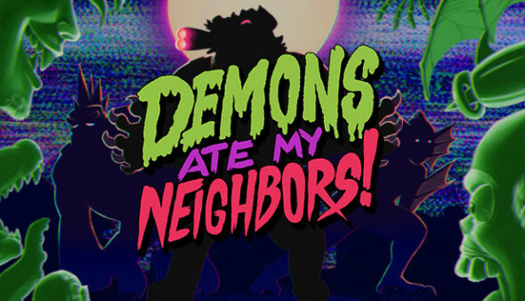 Demons Ate My Neighbors! unleashes camp co-op horror on Switch and PC in 2021