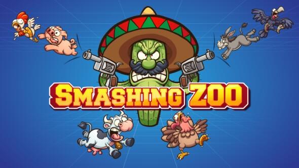 Casually break stuff with animal-shaped balls in Smashing Zoo