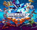 Black King punches his way through the competition in Override 2: Super Mech League