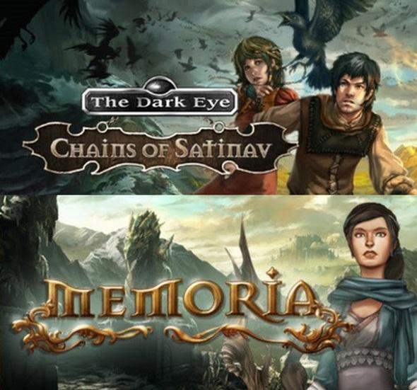 The Dark Eye: Chains of Satinav & The Dark Eye: Memoria – Coming soon to consoles!