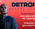 Contest: Detroit: Become Human and PS+ 12 months subscription (Belgium)