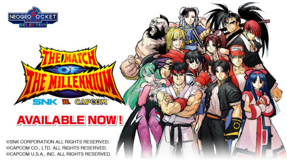 SNK vs Capcom: The Match of the Millennium is out on Nintendo Switch TODAY