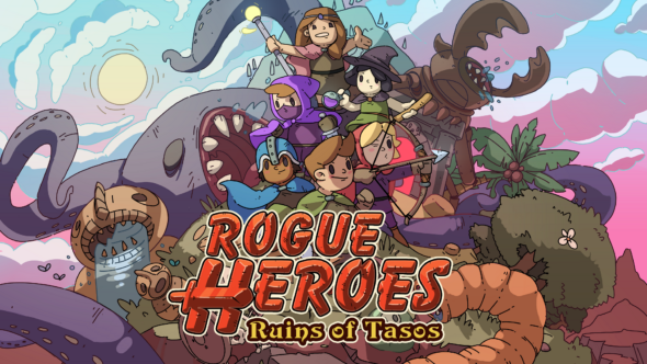 Team up with your friends to tackle Rogue Heroes: Ruins of Tasos today!