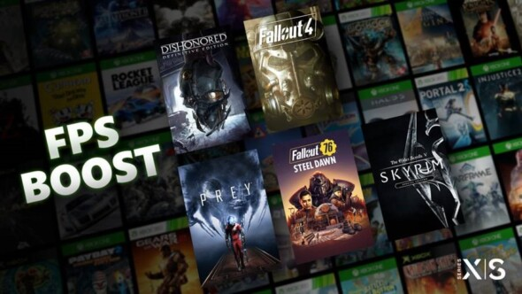 These five Bethesda titles got an update for FPS Boost on Xbox Series X   S