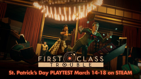 Playtest sign ups for mutliplayer social game First Class Trouble now available