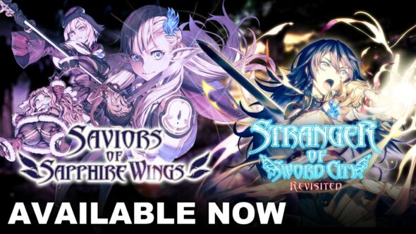 Win a limited edition copy of Saviors of Sapphire Wings / Stranger of Sword City Revisited!