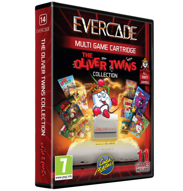 Evercade and The Oliver Twins raise over £11,000 for the National Videogame Museum