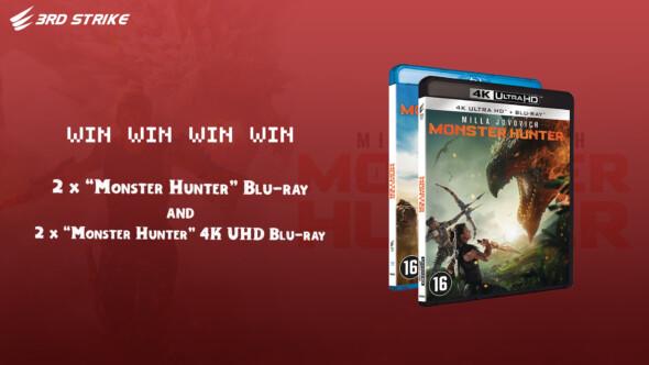 Contest: Monster Hunter 2x Blu-ray + 2x 4K UHD + Blu-ray