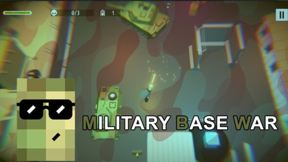 Top-down action in Military Base War coming to Steam April 27th
