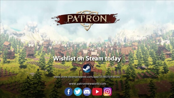 Bring social (in)justice in Patron, a new upcoming medieval city/society builder game