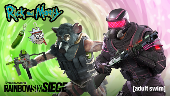 Rick and Morty bundles in Tom Clancy's Rainbow Six Siege