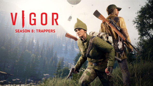 Want to be the hunter or the hunted? Crack into Vigor's season 8: Trappers today!