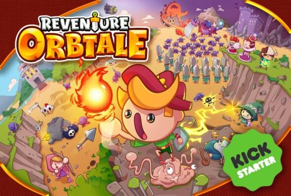 Reventure Orbtale starts its Kickstarter adventure!