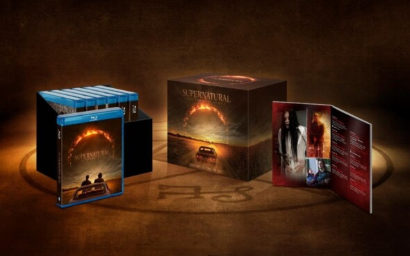 Carry on my wayward son! Supernatural's complete DVD boxset, including season 15, is coming our way on May 26th