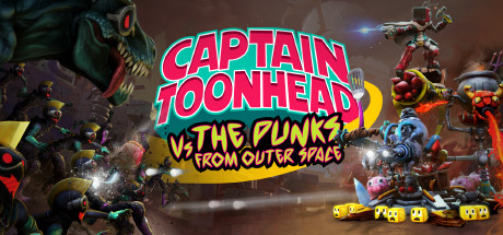 Captain ToonHead vs the Punks from Outer Space will be out this Summer