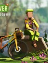 Go with the flow in Lonely Mountains: Downhill 60s inspired Daily Rides Season 6: Flower Power!