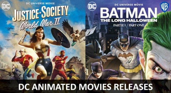 The DC Universe returns with two new animated movies!