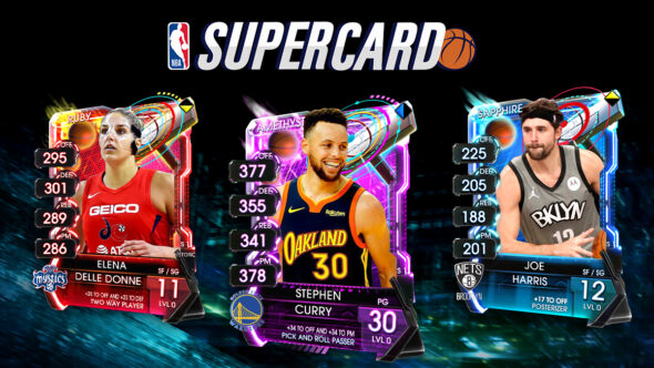 NBA Supercard gets massive updates this month