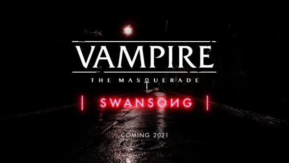 Vampire: The Masquerade – Swansong – New trailer