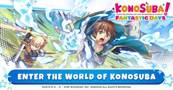Nexon Hosting Fan Event for Global Launch of KonoSuba: Fantastic Days on August 19