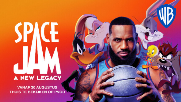 Space Jam: A New Legacy can be watched from your own couch starting August 30th