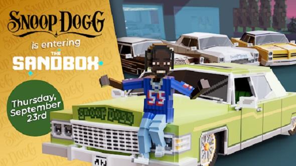 Snoop Dogg is entering The Sandbox
